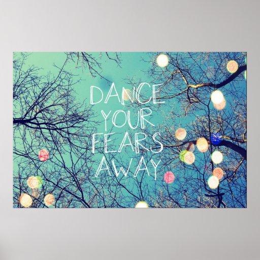 Baile su poster ausente de los miedos
