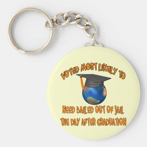 Bailed Out Of Jail Keychains