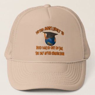 Bailed Out Of Jail Trucker Hat