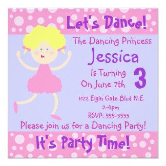 Bailemos el ~ que es fiesta de cumpleaños de invitaciones personales