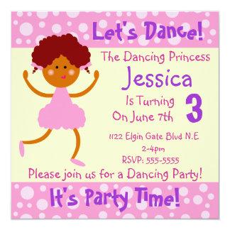 Bailemos el ~ que es fiesta de cumpleaños de invitacion personal