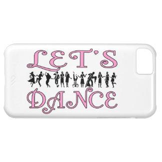 Bailemos pares del baile funda para iPhone 5C