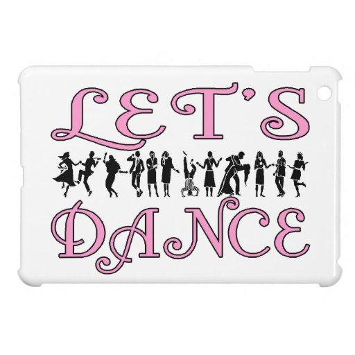 Bailemos pares del baile iPad mini funda