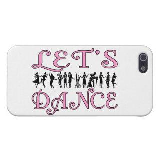 Bailemos pares del baile iPhone 5 carcasa