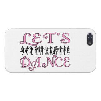 Bailemos pares del baile iPhone 5 carcasas