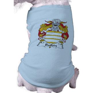 Bailen Family Crest Pet Clothing