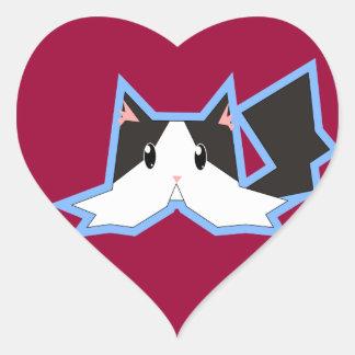 Bailey # 2 heart sticker