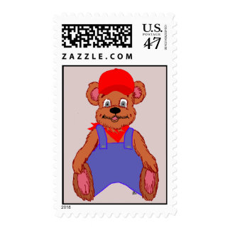 Bailey Bear Stamp