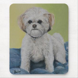Bailey Bichon/shihtzu Art Mousepad