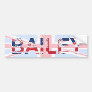 Bailey Bumper Stickers