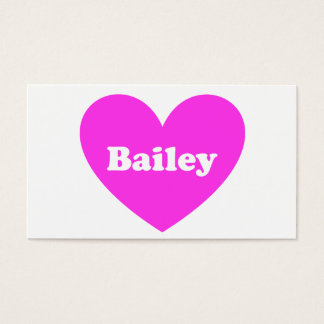 Bailey Business Card