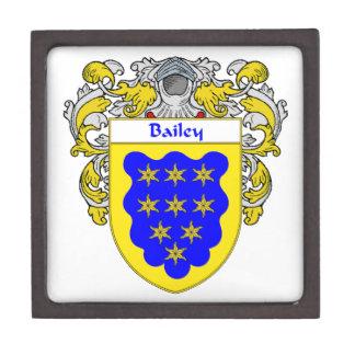 Bailey Coat of Arms/Family Crest Keepsake Box