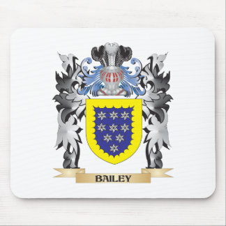Bailey Coat of Arms - Family Crest Mouse Pad