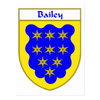 Bailey Coat of Arms/Family Crest Postcard