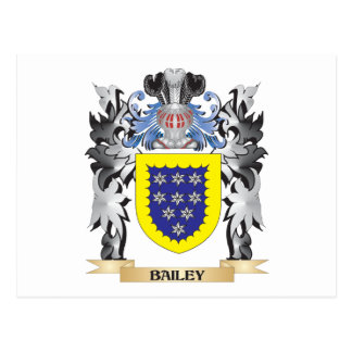 Bailey Coat of Arms - Family Crest Postcard