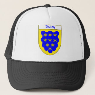 Bailey Coat of Arms/Family Crest Trucker Hat