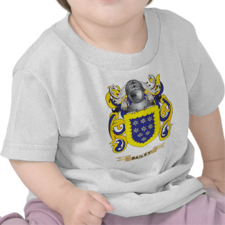 Bailey Coat of Arms (Family Crest) Tshirt
