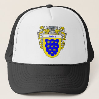 Bailey Coat of Arms (Mantled) Trucker Hat