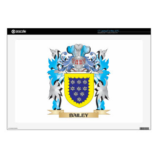 Bailey Coat of Arms Decal For Laptop
