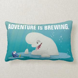 Bailey & Dory | Swim with Friends Lumbar Pillow
