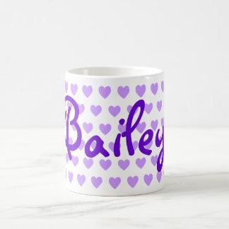 Bailey en púrpura taza clásica