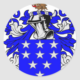 Bailey (English) Coat of Arms Classic Round Sticker