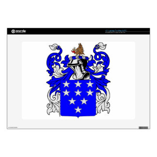 """Bailey (English) Coat of Arms 15"""" Laptop Decals"""