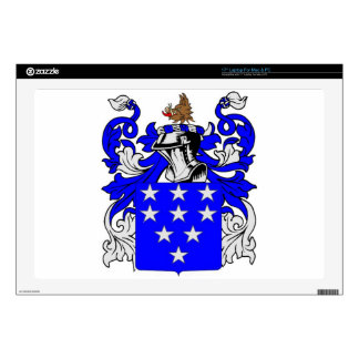 Bailey (English) Coat of Arms Decals For Laptops