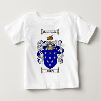 BAILEY FAMILY CREST -  BAILEY COAT OF ARMS BABY T-Shirt
