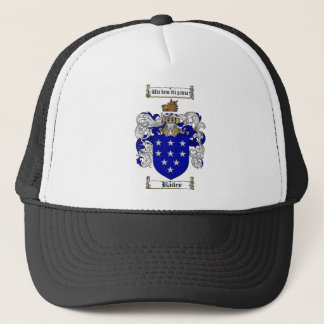 BAILEY FAMILY CREST -  BAILEY COAT OF ARMS TRUCKER HAT