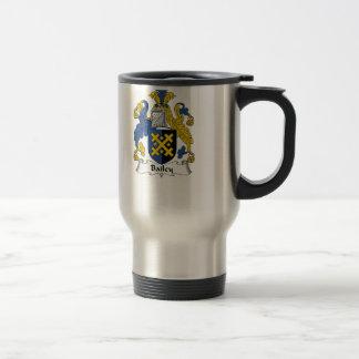 Bailey Family Crest Travel Mug
