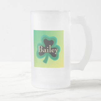 Bailey Frosted Glass Mug