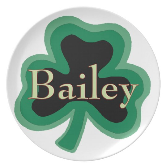 Bailey Irish Melamine Dinner Plate