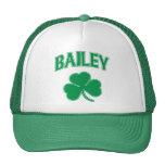 Bailey Irish Shamrock t shirt Trucker Hat