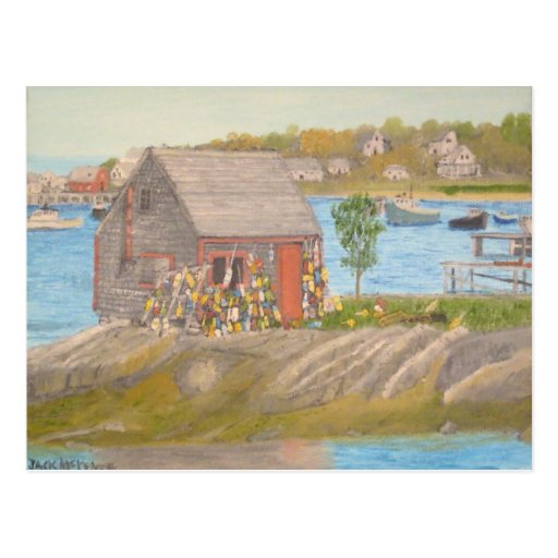 Bailey Island Fisherman's Shed Postcards