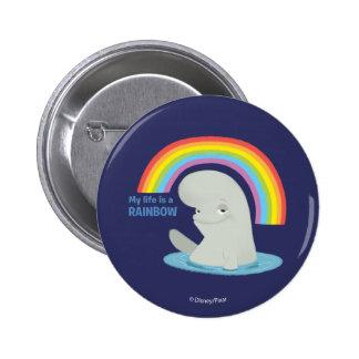Bailey | My Life is a Rainbow Button
