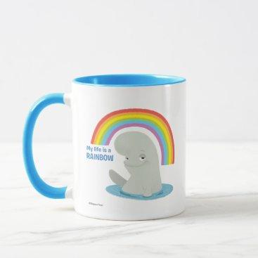 Disney Themed Bailey   My Life is a Rainbow Mug