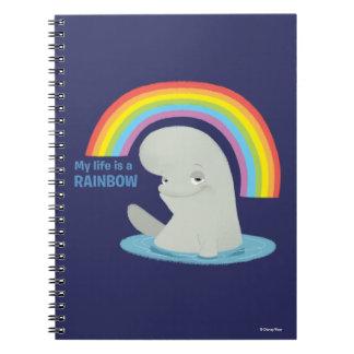 Bailey   My Life is a Rainbow Notebook
