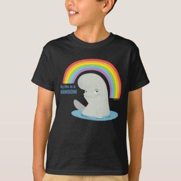 Disney Themed Bailey   My Life is a Rainbow T-Shirt