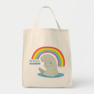 Bailey | My Life is a Rainbow Tote Bag