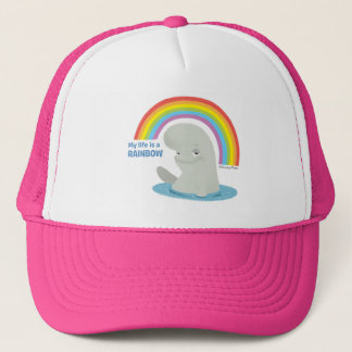 Bailey | My Life is a Rainbow Trucker Hat