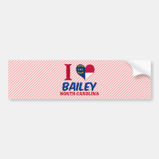 Bailey, North Carolina Bumper Stickers