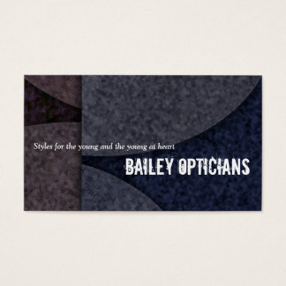 """Bailey Opticians"" Business Card"