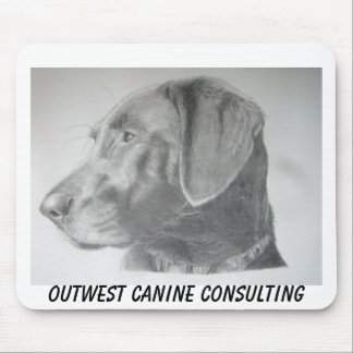 Bailey, Outwest Canine Consulting Mouse Pad