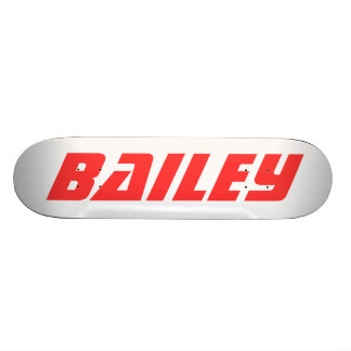 Bailey, Personalized Skateboard Skate Deck