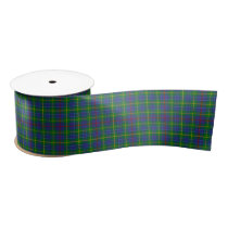 Bailey Scottish Tartan Pattern Satin Ribbon