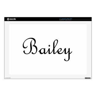 "Bailey 17"" Laptop Decal"