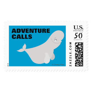 Bailey the Beluga Whale Postage