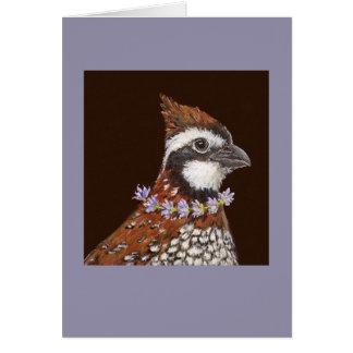 Bailey the bobwhite card
