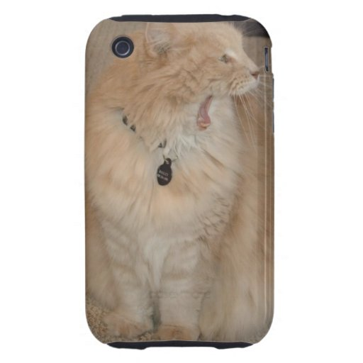 Bailey Yawn Tough iPhone 3 Cover